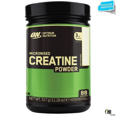 ON Optimum Nutrition Creatine Powder 317 gr. Creatina Monoidrata Micronizzata - CREATINA - in vendita su Nutribay.it