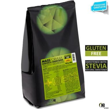 +WATT MASS FORMULA gainer di Proteine Latte Creatina Vitamine Glutammina e BCAA