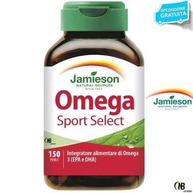 Jamieson Omega 3 Select SPORT 150 Perle Olio di Pesce + Vitamina E