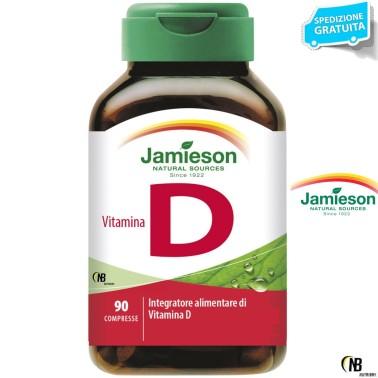 Jamieson Vitamina D 90 cpr. Vitamine Vitamina D3 Ossa