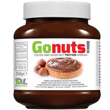 Anderson Go Nuts 350 gr Cioccolata Proteica Spalmabile come Nutella GONUTS in vendita su Nutribay.it