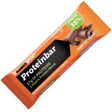 Named Proteinbar 12 barrette Proteiche da 50 gr con Proteine Isolate in vendita su Nutribay.it