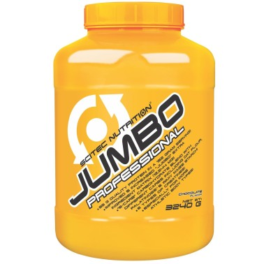 SCITEC JUMBO PROFESSIONAL 3240 MEGA MASS GAINER DI PROTEINE + CREATINA VITAMINE in vendita su Nutribay.it