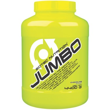 Scitec Jumbo 4,4 kg Mega Mass Gainer con Proteine Whey e Creatina in vendita su Nutribay.it