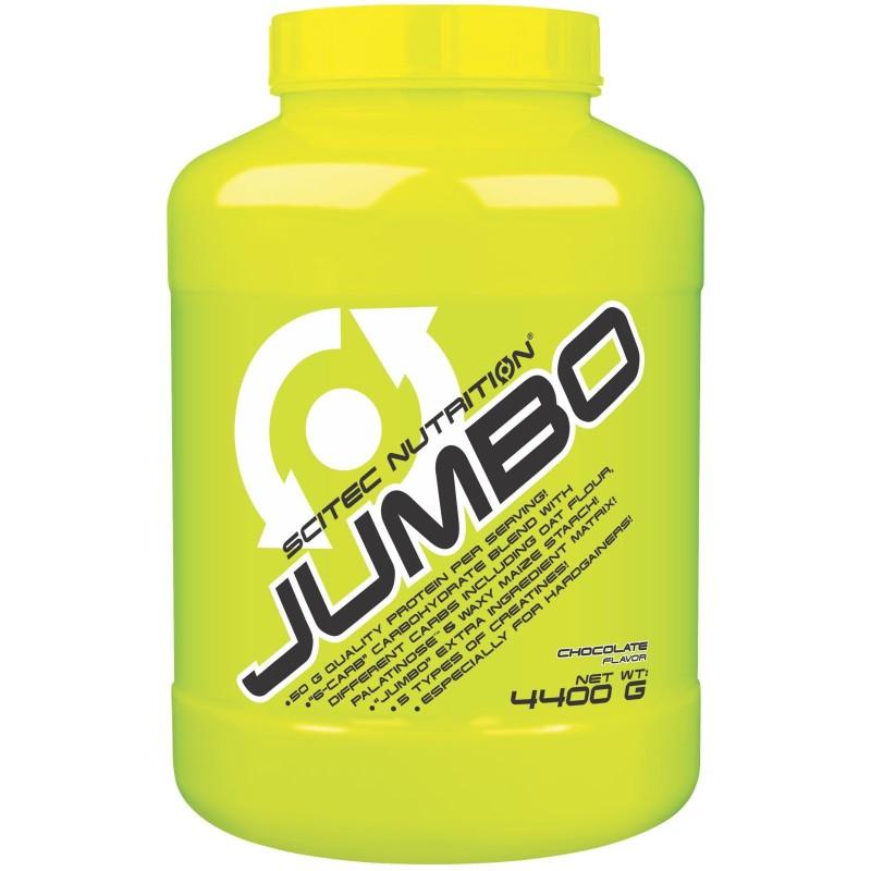 Scitec Jumbo 4,4 kg Mega Mass Gainer con Proteine Whey e Creatina in vendita su Nutribay.it