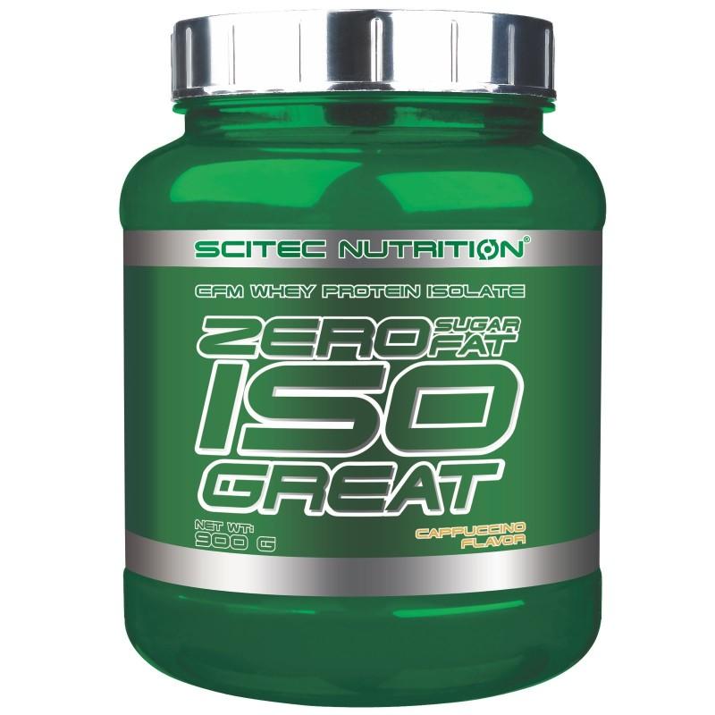 Scitec Iso Great Zero 900 gr Proteine Isolate Senza Carboidrati e Grassi in vendita su Nutribay.it