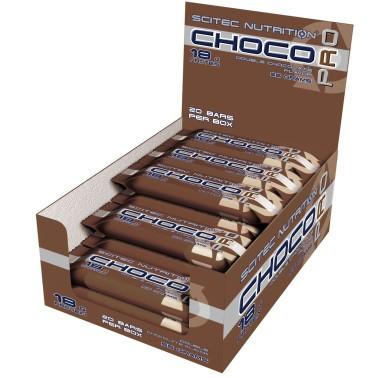Scitec Choco Pro 20 Barrette Proteiche da 55 gr con 33% di Proteine BARRETTE in vendita su Nutribay.it