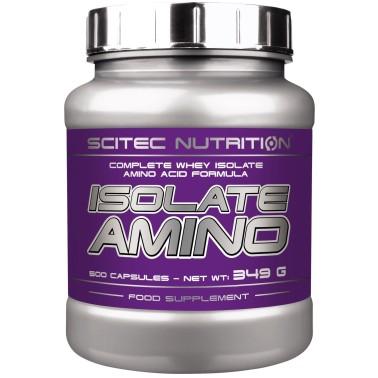 Scitec Isolate Amino 500 cpS Aminoacidi Ramificati Essenziali Completi - AMINOACIDI COMPLETI - in vendita su Nutribay.it