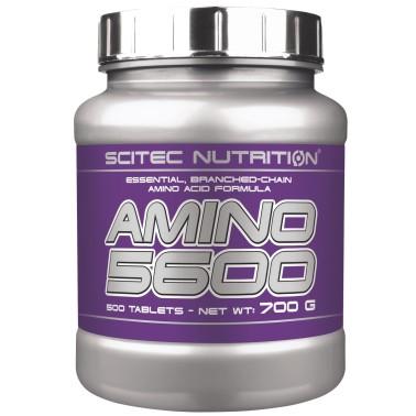 SCITEC NUTRITION Amino 5600 500 cpr. Aminoacidi Ramificati Bcaa Pool Essenziali