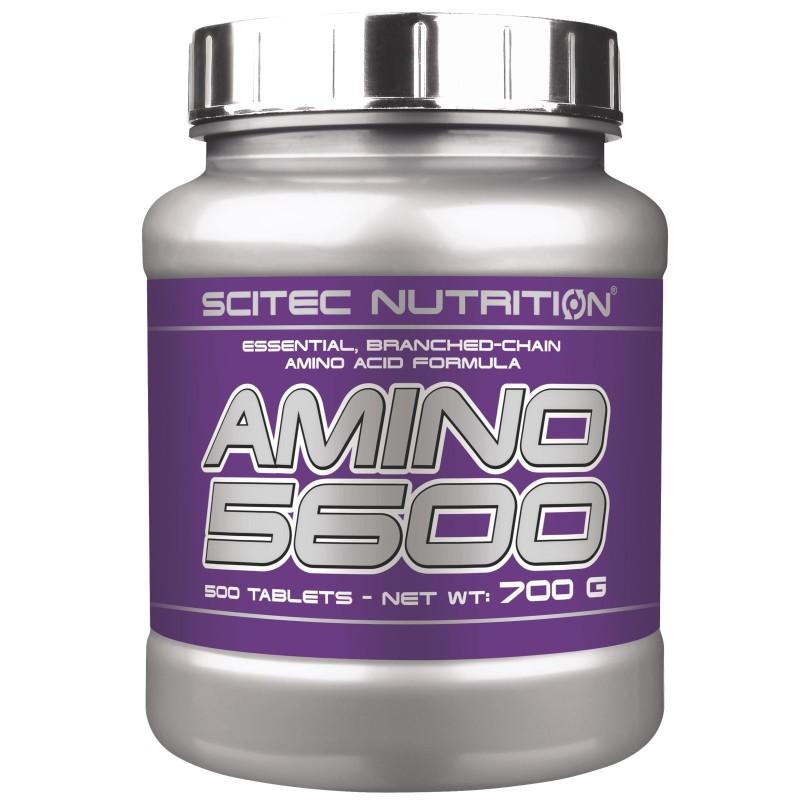 SCITEC NUTRITION Amino 5600 500 cpr. Aminoacidi Ramificati Bcaa Pool Essenziali in vendita su Nutribay.it