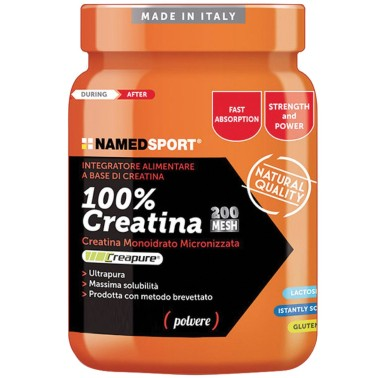 NAMED SPORT 100% CREATINE 500 gr CREATINA CREAPURE MICRONIZZATA in vendita su Nutribay.it