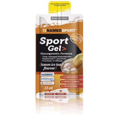 Named Sport 15 Gel da 25 ml Energetico 4 fonti Differenziate con D ribosio in vendita su Nutribay.it