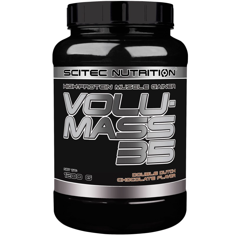 SCITEC Volumass 35 1200 gr. Integratore Mega Mass Gainer di Proteine + Creatina in vendita su Nutribay.it