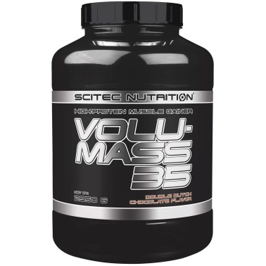 Scitec Volumass 35 2950 gr. Integratore Mega Mass Gainer di Proteine + Creatina in vendita su Nutribay.it