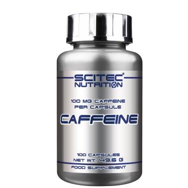 SCITEC NUTRITION Caffeine 100 cps. Caffeina Pura Stimolante Energetico - CAFFEINA in vendita su Nutribay.it
