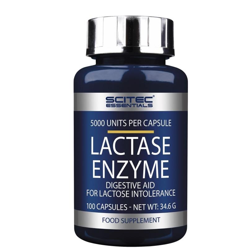 SCITEC NUTRITION Lactase Enzyme 100c Enzimi Digestivi per Intolleranza Lattosio in vendita su Nutribay.it