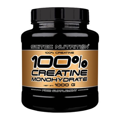 Scitec Nutrition 100% Creatine 1000 gr 1kg Creatina Monoidrato in Polvere - CREATINA - in vendita su Nutribay.it