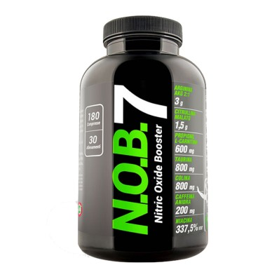 Net N.O.B. Nob7 180 cpr. Preworkout Arginina AKG Citrullina Malato Taurina - PRE ALLENAMENTO - in vendita su Nutribay.it