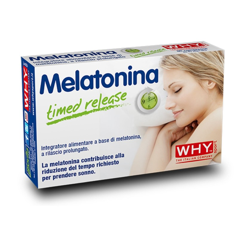 Why Sport Melatonina 80 cpr Melatonina a rilascio Graduale in vendita su Nutribay.it