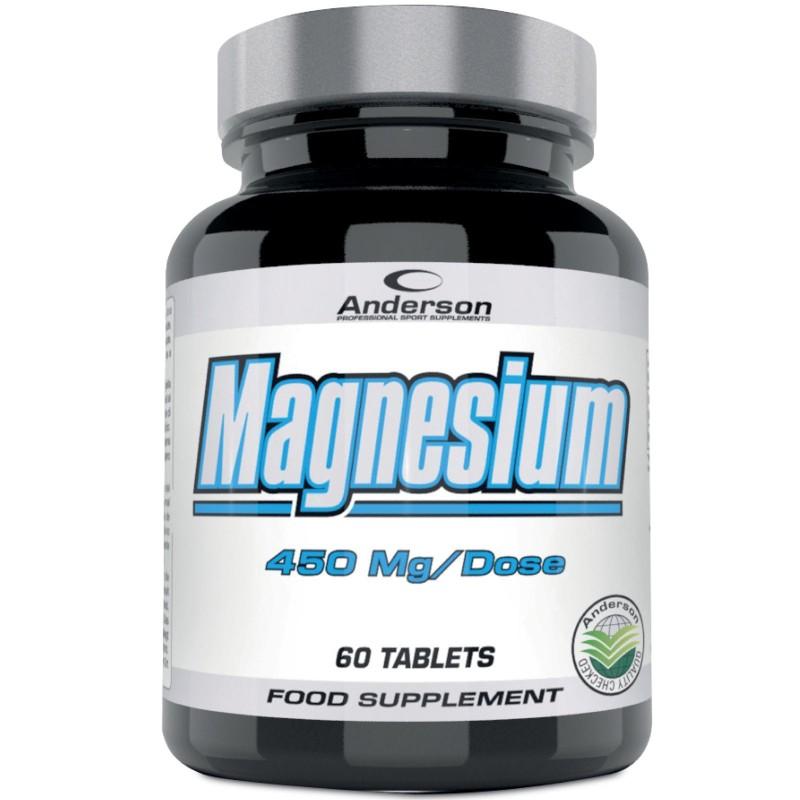 Anderson Magnesium 60 cpr. Integratore di Magnesio Citrato e Carbonato in vendita su Nutribay.it