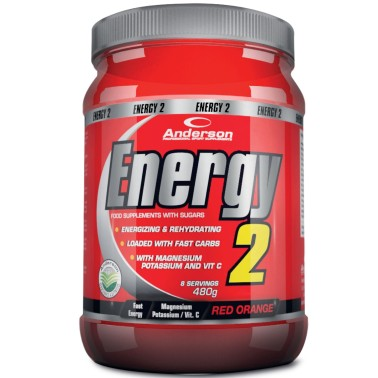 Anderson Energy 2 480 gr integratore di Sali minerali Carboidrati e Vitamine - POST WORKOUT COMPLETI in vendita su Nutribay.it