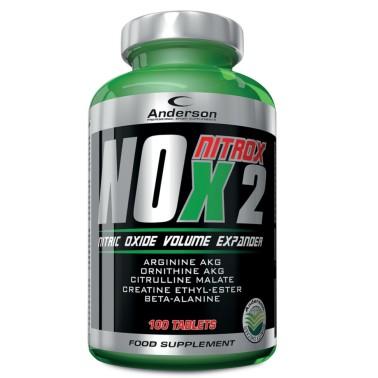 Anderson Nox Nitrox 2 Arginina Complex Massa Muscolare Vigore Sessuale Erezione