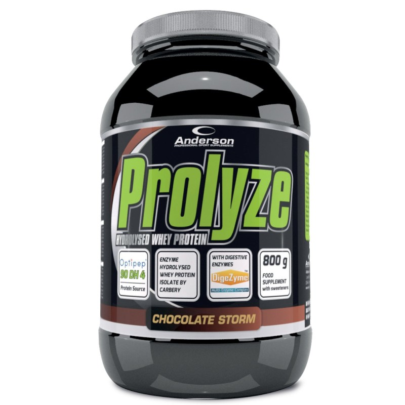 ANDERSON Prolyze 800gr Proteine Idrolizzate Whey Isolate Optipep con Enzimi in vendita su Nutribay.it