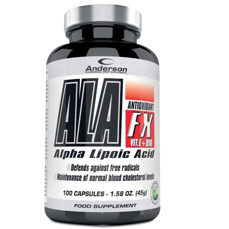 Anderson Ala Fx 100 cpr Acido Lipoico Vitamina E e Coenzima q10 in vendita su Nutribay.it