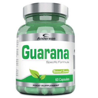 Anderson Guarana 60 cps Integratore Energizzante - TONICI in vendita su Nutribay.it