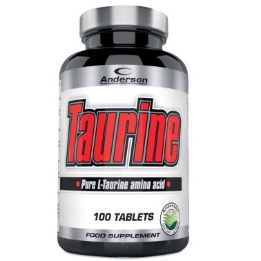 Anderson Taurine 100 cpr Integratore di 100% Pura L- Taurina in vendita su Nutribay.it