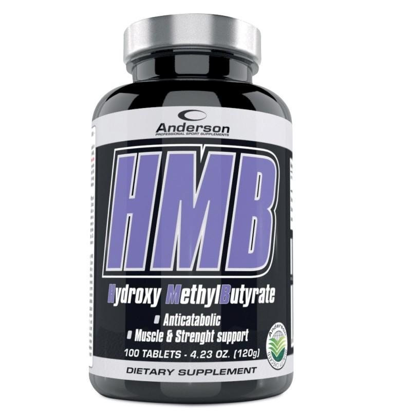 Anderson HMB 100 cpr Calcio Beta Idrossimetilbutirrato Aminoacido Anticabolico in vendita su Nutribay.it