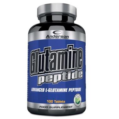 Anderson Glutamine Peptide 100 cpr Integratore di Glutammina pura 100% peptidi