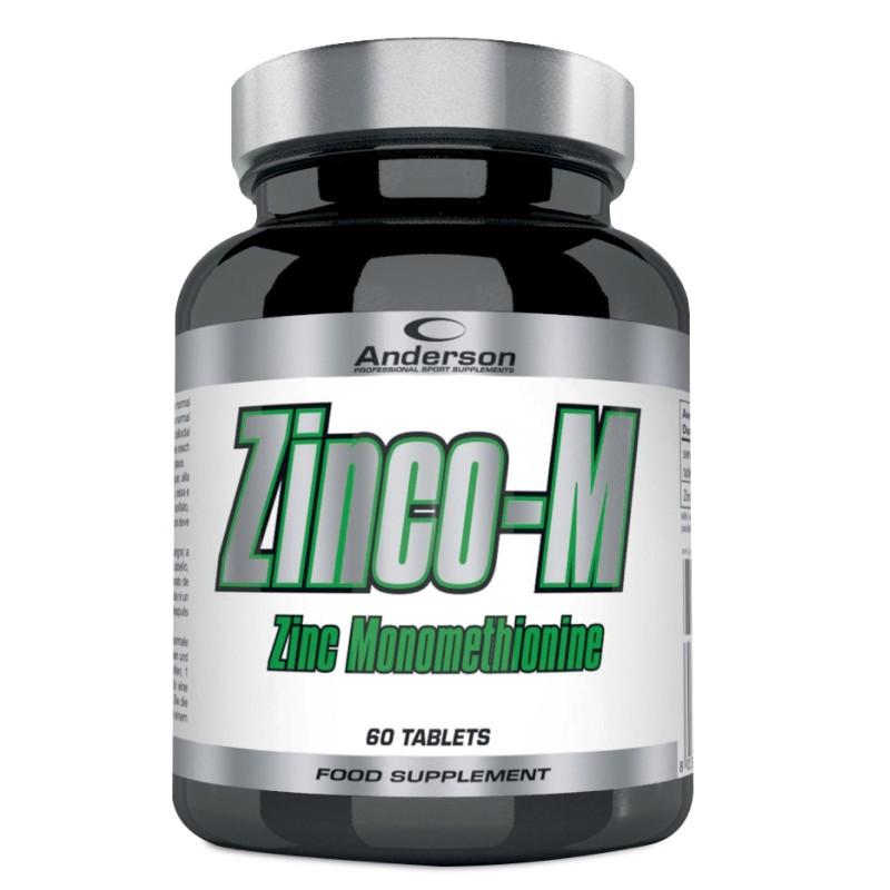 Anderson Zinco-M 60 cpr Integratore di Zinco Monometionina in vendita su Nutribay.it