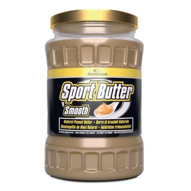 ANDERSON Sport Butter 510 Burro d' Arachidi Ricco di Proteine, Omega 3 e Fibre in vendita su Nutribay.it