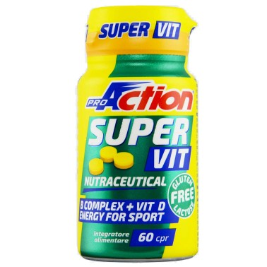 Proaction Super Vit 60 cpr Multivitaminico Alto dosaggio con Acido Folico - VITAMINE in vendita su Nutribay.it