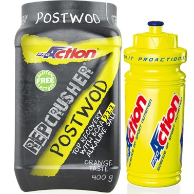 Proaction Rep Crusher 400 gr Post Wod Workout Completo Crossfit + BORRACCIA in vendita su Nutribay.it