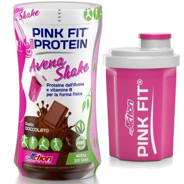 Proaction Protein Shake Pink Fit 400 gr Proteine di Avena con zinco ferro vitamina E - PROTEINE in vendita su Nutribay.it