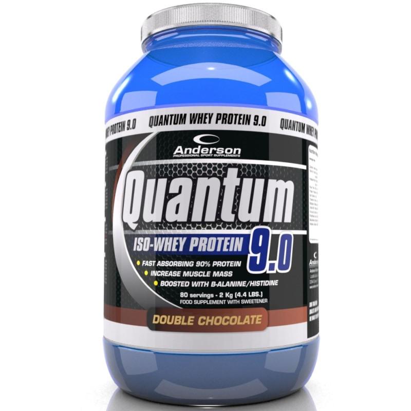 ANDERSON Quantum 9.0 2000 gr 2 kg 94% Proteine del Siero Del latte Whey Isolate in vendita su Nutribay.it