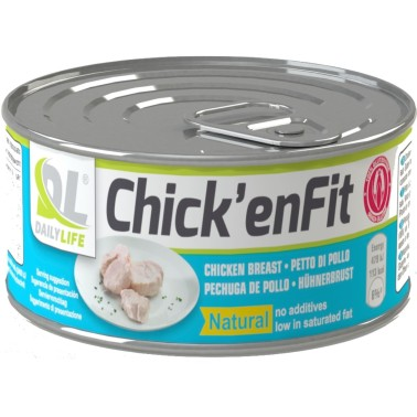 Dailylife ANDERSON CHICK' ENFIT Petto di Pollo Pronto 155 gr. Ricco di Proteine in vendita su Nutribay.it