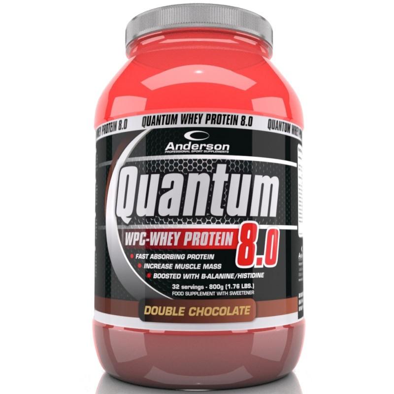 Anderson Quantum 8.0 800 gr Proteine del Siero Del latte Whey Isolate con Vitamine in vendita su Nutribay.it