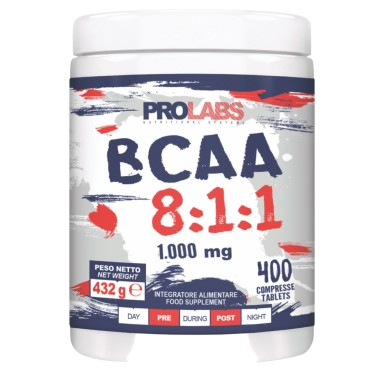 Prolabs BCAA 8:1:1 400 cpr Aminoacidi Ramificati 811 Extra Leucina + Vitamine in vendita su Nutribay.it
