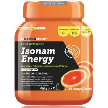 NAMED Isonam Energy 480g Isotonica Sali Minerali Magnesio Potassio Maltodestrine in vendita su Nutribay.it
