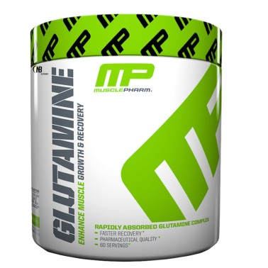 MUSCLEPHARM GLUTAMINE 300 gr. MIX 3 TIPI DI GLUTAMMINA L-GLUTAMMINA PEPTIDE in vendita su Nutribay.it