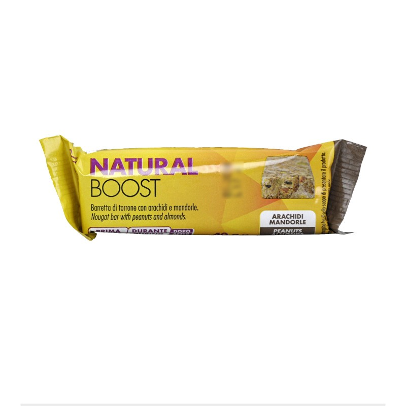 +WATT NATURAL BOOST 24 BARRETTE DA 40 gr. ENERGETICHE CON ARACHIDI E MANDORLE in vendita su Nutribay.it