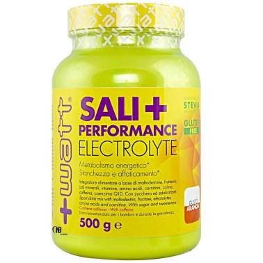 +Watt Sali+ Performance Sali Minerali Magnesio Potassio con Vitamine e Caffeina