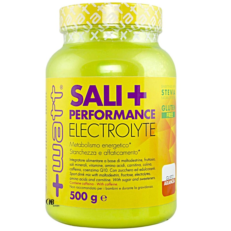 +WATT Sali+ Performance Sali Minerali Magnesio Potassio con Vitamine e Caffeina - SALI MINERALI in vendita su Nutribay.it