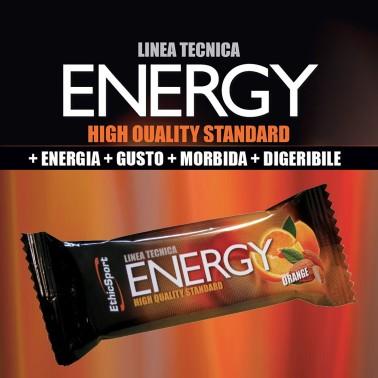 Ethic Sport Energy Orange Barrette Energetiche 35 gr. con Miele Riso e Avena