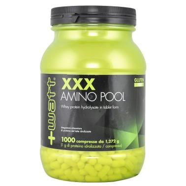 +WATT XXX Amino Pool 1000 cpr. Aminoacidi Da Proteine del Siero Idrolizzate - AMINOACIDI COMPLETI - in vendita su Nutribay.it