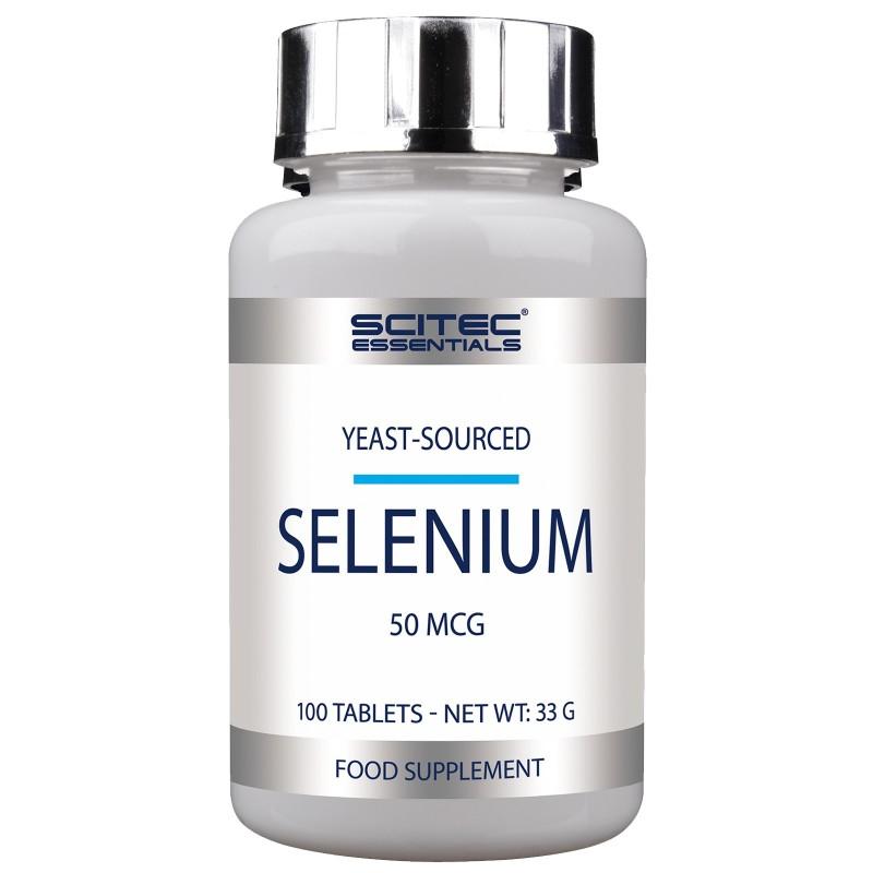Scitec Nutriton Selenium 100 cpr. Selenio Tonico per Unghie Capelli e Tiroide