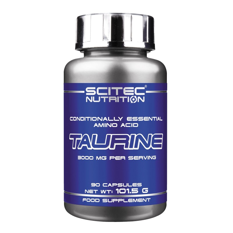 SCITEC NUTRITION Taurine 90 cps. Pure Taurina Aminoacidi Essenziali Energetico - TAURINA in vendita su Nutribay.it